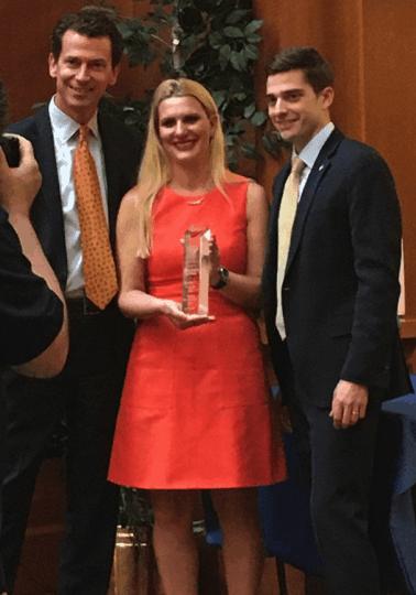 Tanya Bakalov UD Alumni Award